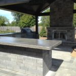 Concrete Countertop Outdoor Kitchen