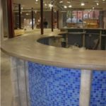 Commercial Concrete Countertop