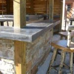 Outdoor Concrete Bar