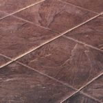 Stamped Concrete Tile Pattern