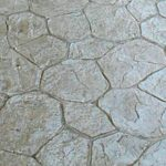Stamped Concrete Stone Pattern
