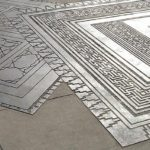 Intricate Stamped Concrete Patio