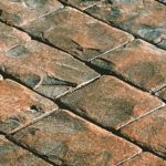 Coloured Stamped Concrete
