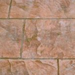 Stamped Concrete Tile Patio