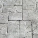 Stamped Concrete Stone Mosaic