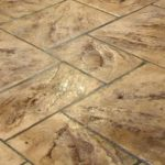 Stamped Concrete Mosaic