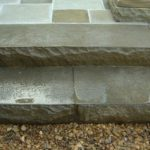 Stamped Concrete Patio and Stairs