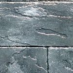 Stamped Concrete Block Pattern